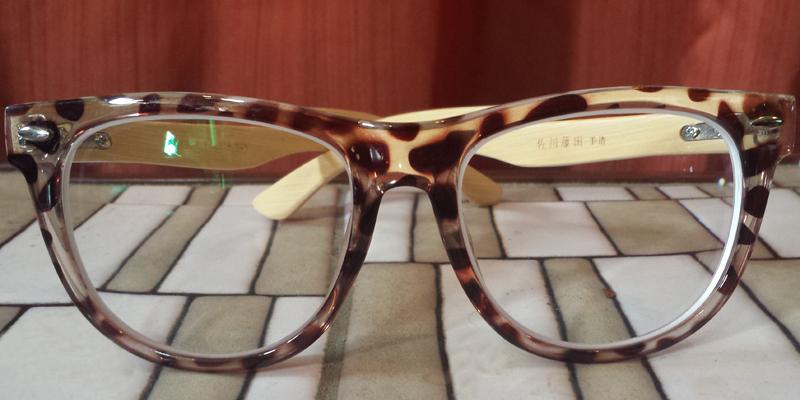 Wooden Frame Eyeglasses - Prescription Glasses