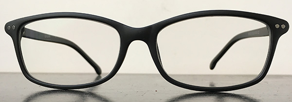 Black rectangular frames