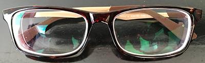 Stylish eyeglass frames frt