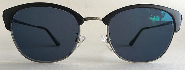 Browline full rimmed sunglasses front view