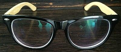 Black Wayfarer Eyeglass frames