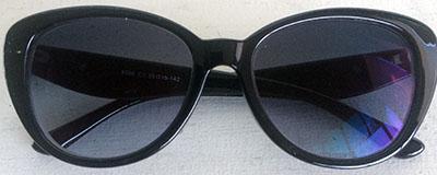 soft cateye prescription sunglasses front