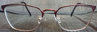 Prescription glasses catseye frames