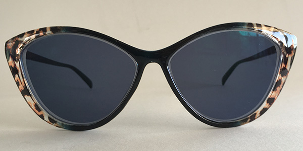 Cateye sunglasses front
