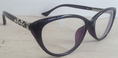Cateye   frames with temple design