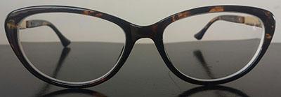 soft   cateye prescription glasses
