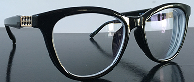 Black cateye frames