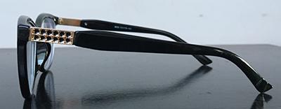 black cateyewear frames