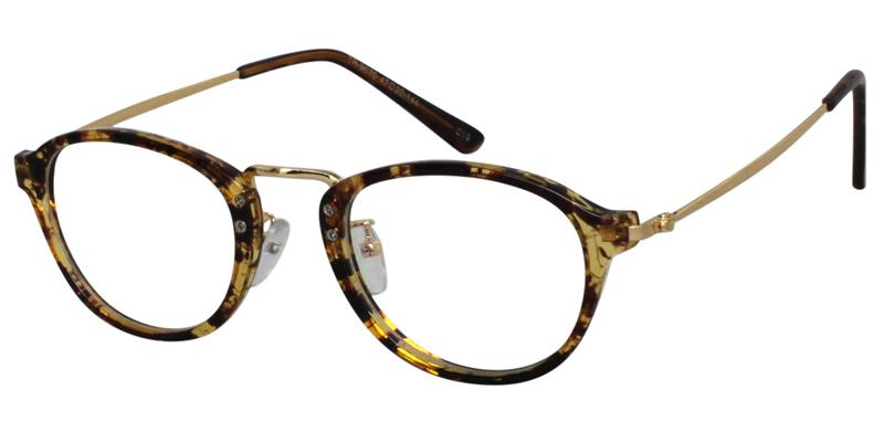 wayfarer tortoise and gold retro frames