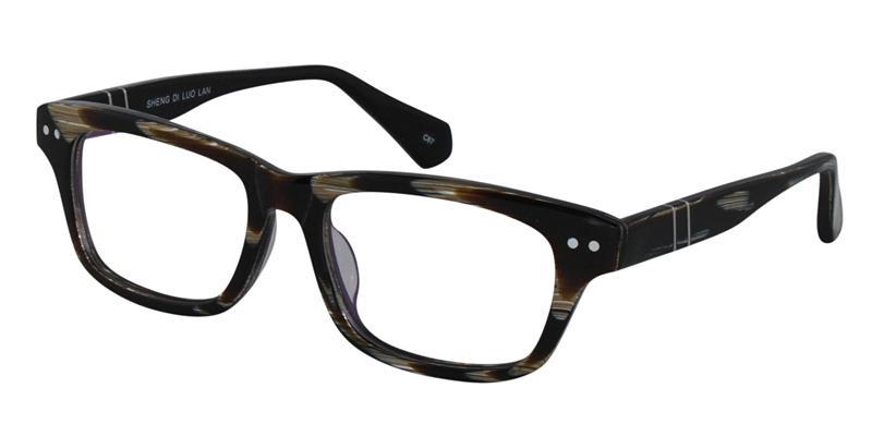 Tortoise wayfarer glasses