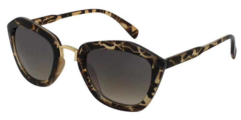 Geometric shapes prescription sunglasses