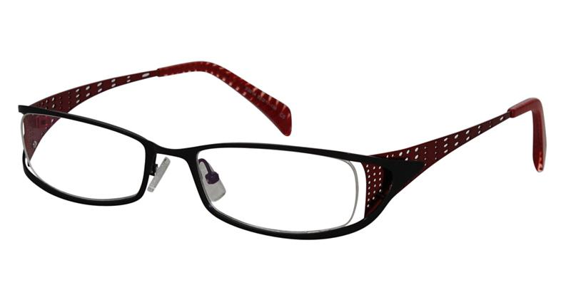 square black frames prescription eyeglasses